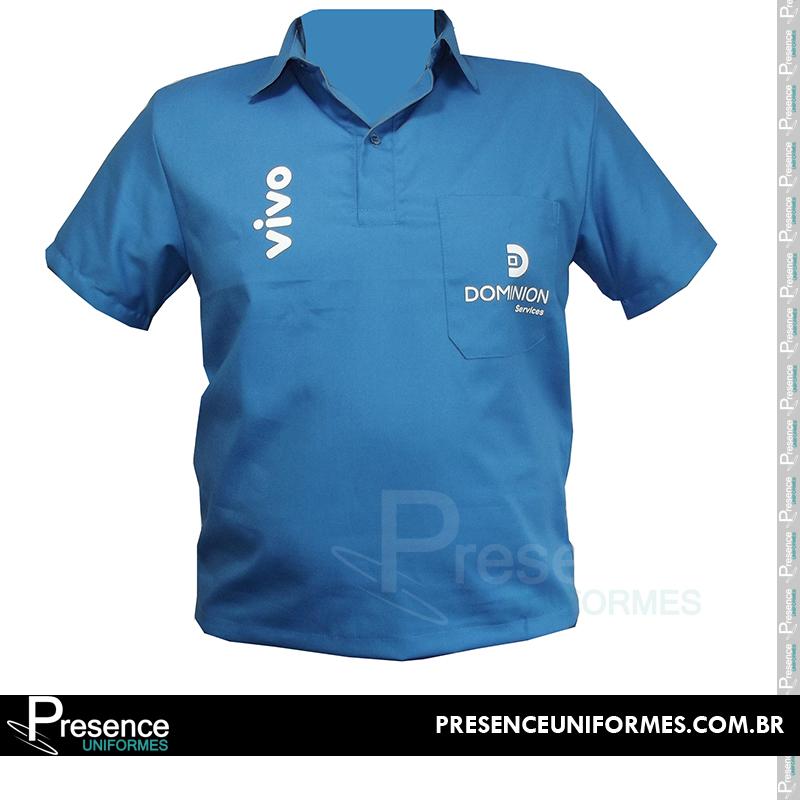 6ae23ac135 Camisa polo uniformes profissionais 13